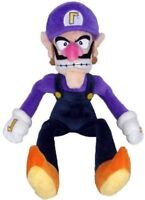 Super Mario Bros Waluigi Plush Doll Figure Soft Stuffed Animal Toys 11 inch Gift
