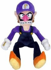 Super Mario Bros Waluigi Plush Doll Figure 11 inch Soft Stuffed Animal Toy Gift