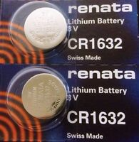 CR 1632 RENATA WATCH BATTERY(2 piece) ECR1632 FREE SHIPPING Authorized Seller