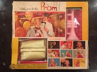 RARE 1970 VTG CATHY GOES TO THE PROM PARTY TIME COSMETICS BOXED SET BY HASBRO