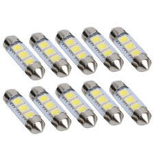 10 Stück 3 SMD 5050 LED Licht 12V Sofitte 36mm Xenon Nummerschild Indicator【DE】