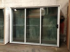 Stacker Door - 2100h x 2688w Brand New w/ Clear Glass - Various Colours