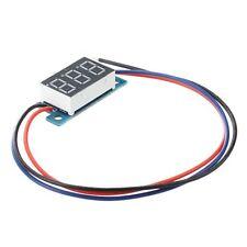 Mini LED Display Digital Voltmeter Panel Voltage Meter DC 3 - 200V DT
