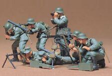 TAMIYA 35038 - 1/35 FIGUREN SET WWII DEUTSCHE MG TRUPPE - NEU