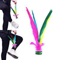 Colorful China Jianzi Footbal Foot Kick Chicken Feather Shuttlecock For Fitn Jf