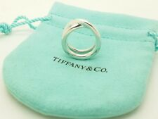 Tiffany & Co. Sterling Silver Paloma Picasso Le Circle Crossover Ring Size 4.5