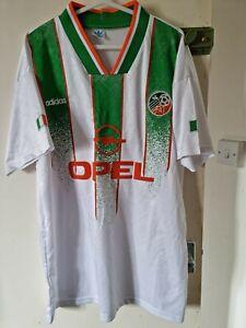 REPUBLIC OF IRELAND EIRE AWAY  FOOTBALL  SHIRT  1994  WORLD CUP USA XXL