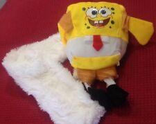 Sponge Bob - Sciarpa con Peluche originale 70x10cm - Nuova