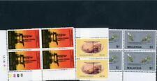 Malaysia 1985 Scott# 314-6 blocks of 4 mint NH