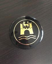Deluxe Horn button for VW 68-79 bay window bus Volkswagen Wolfsburg GOLD