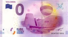 63 VULCANIA Le cône et les puys, 2017, Billet 0 Euro Souvenir