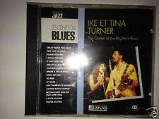 "CD LES GENIES DU BLUES ""IKE ET TINA TURNER"" 16 TITRES, D'OCCASION, TRES BON ETAT"