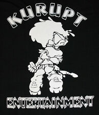 XXL * NOS vtg 90s KURUPT Entertainment t shirt * rap hip hop 2x 2xl * 80.73