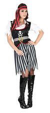 Piratin Piraten Lady Damen Piratenbraut Fasching Karneval Kostüm