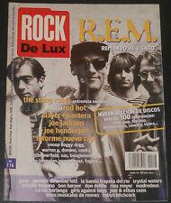 ROCKDELUX #116 1995 R.E.M. The Stone Roses Slayer Joe Jackson magazine revista