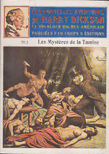 C1 Dole NOUVELLES AVENTURES HARRY DICKSON Mysteres Tamise 1984 EO JEAN RAY