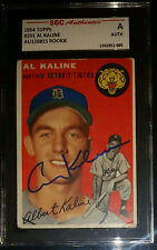 1954 Topps #201 Al Kaline RC Rookie HOF Signed AUTO Tigers PSA/DNA Certified