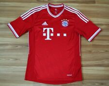 SIZE S BAYERN MUNICH HOME FOOTBALL SHIRT JERSEY 2013-2014 TRIKOT MENS ADIDAS RED
