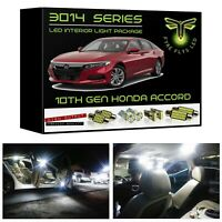 White LED Interior Light Package Kit for 2018-2021 10th Gen Honda Accord 3014SMD