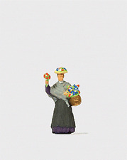 HO Preiser 28106 Market Lady / Flower Seller : 1/87 scale Individual Figure
