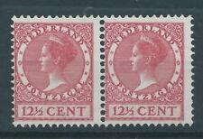 1926TG Nederland Veth met watermerk NR.184 postfris paartje,mooie zegels!