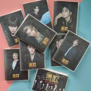 Kpop STRAY KIDS Photo Notebook BANG CHAN Planner Scrapbook Journal Stationery