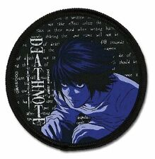 "Death Note L Patch 3"" x 2"" Licensed by GE Animation Anime 7274 Free Shipping"