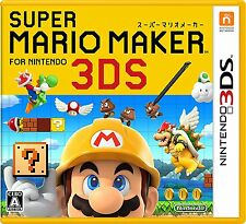 Nintendo 3DS Japan Super Mario Maker Brand-new Tracking Number from Japan