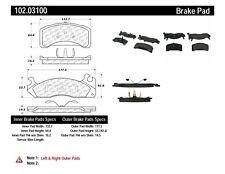 Disc Brake Pad Set-G54D Front Centric 102.03100