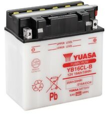 Batterie 12V 19A trocken Yuasa ATV Quad YB16CLB ohne Säurepack