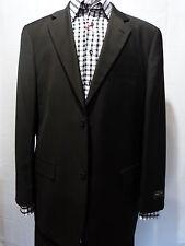 Men's Suit, 48L, Two Button, Black, NWT