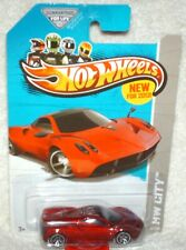 Hot Wheels 2013 Street Power Series Pagani Huayra red,J5 wheels,excellent card