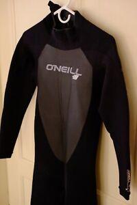 O'Neil Epic 4/3 full wetsuit mens M/T Medium Tall NEW