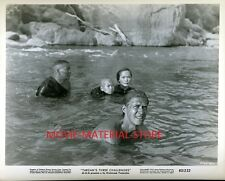 "Jock Mahoney Tarzan's Three Challenges Original 8x10"" Photo #M2643"