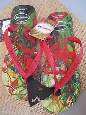 NEW Havaianas SANDALS FLIP FLOP SHOES 11 11.5 12 Red Rain Forest