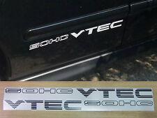 "Reemplazo lado Calcomanías / Stickers | cívica ""Sohc Vtec"" | Crx Eg Ek Sir Vti"