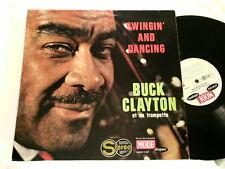 BUCK CLAYTON Swingin & Dancing Kansas Fields Jean Claude Pelletier Mode LP