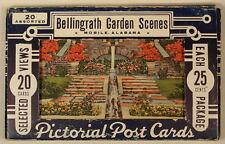 Bellingrath Gardens Mobile Al Alabama 20 Diff Linen Postcards Set