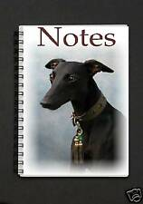 Black Whippet Notebook/Notepad By Starprint