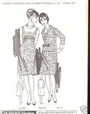Patron de couture Femme d'Aujourd'hui un ensemble élégant taille 46