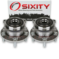 Pair (2) Rear Wheel Bearing Hub Assembly for Kia Sorento 2011 - 2015 Left tj