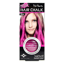 Splat Hearts Pink Haarkreide Temporäre Haarfarbe Chalk Coloration Auswaschbar