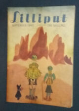 """Revue anglaise """"Lilliput"""" September 1947 Vintage photos, gags, illustrations ..."""