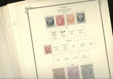 ITALY, Excellent Back of Book Stamp Collection hinged/mounted on Scott Specialty