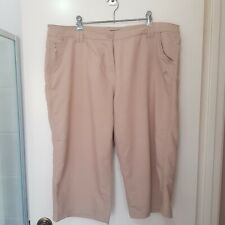 Craghoppers Size 20 Light Brown Cargo Hiking Shorts