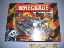Wreckage A Tabletop Board Game A Game of Guns & Gasoline Fantasy Flight Games