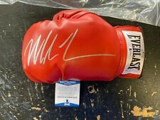 MIKE TYSON AUTOGRAPHED SIGNED BOXING GLOVE BECKETT COA