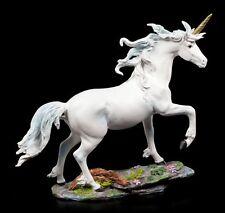 Einhorn Figur groß trabend - Fantasy Einhornfigur