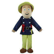 Fireman Sam Mascot Adult Cartoon Doll Costume Outdoor Performance Props