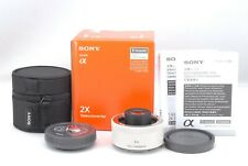 SONY 2x Teleconverter SEL20TC E mount with Box